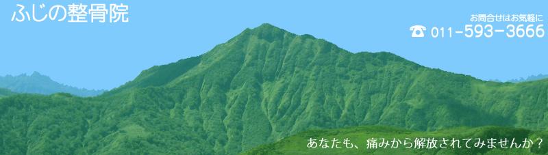 札幌市南区藤野 ふじの整骨院 冷え性・脱臼・骨折・打撲・筋挫傷・腰痛・ひざの痛みなら おまかせ下さい。